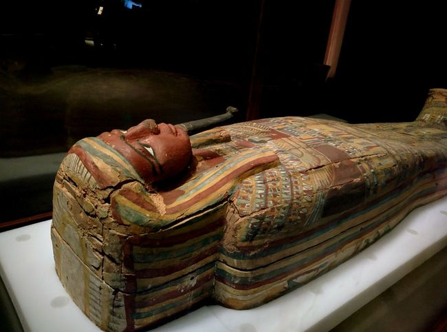 No name tomb. Had markings and did not have a name engraved so was thought to be bought from a vendor. Hanging Out Hello World Mummies Museum Absorbing Being Cultured Exhibition Egypt