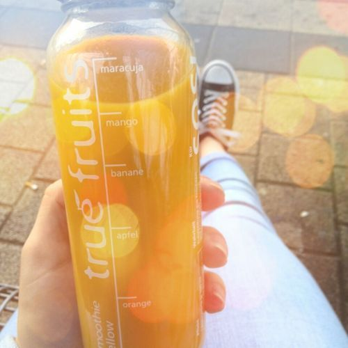 healthy. true fruits. love it. fast zu hause. summer. hot. beautiful day. chucks. jeans.