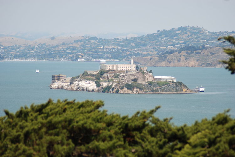 Alcatraz Alcatraz Island Alcatraz In Sight Alcatraz Prison Bay Building Exterior Built Structure Island Land Mountain Nautical Vessel Outdoors San Francisco Bay Scenics - Nature Sea Water