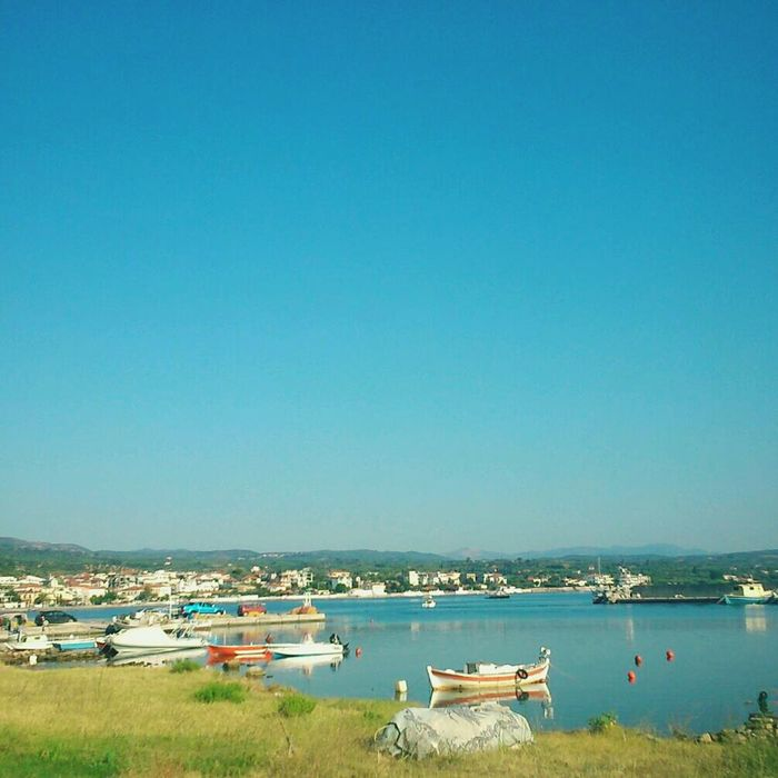 My Village Boats Marina Calm