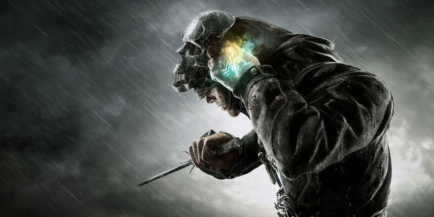 Digital Composite One Person One Man Only Corvo Attano Dishonored Videogames Corvo PS4 Playing Games
