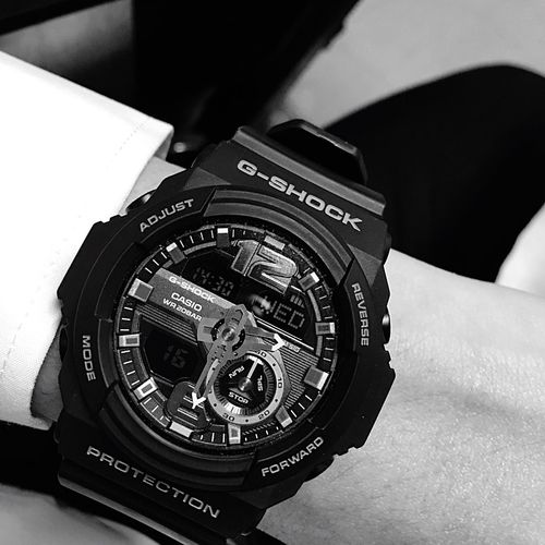 Time Human Hand Minute Clock Oclock Watch G-shock Gshock Gshock Collection GshockCasio Modern Minute Hand Second Hour Hour Hand Black Forward Reverse Mode Adjust Luxury Lieblingsteil