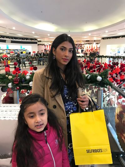 Retail  Customer  Consumerism Store Looking At Camera Buying Real People Casual Clothing Portrait Lifestyles Leisure Activity Smiling Young Women Front View Indoors  Two People Young Adult Standing Beautiful Woman Happiness Black Friday UK Black Friday 2017