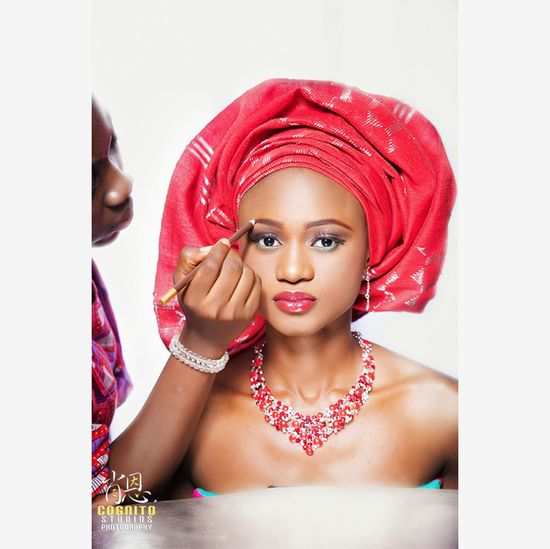 From a Makeup session Cognitostudios Abuja Nigeria #photography