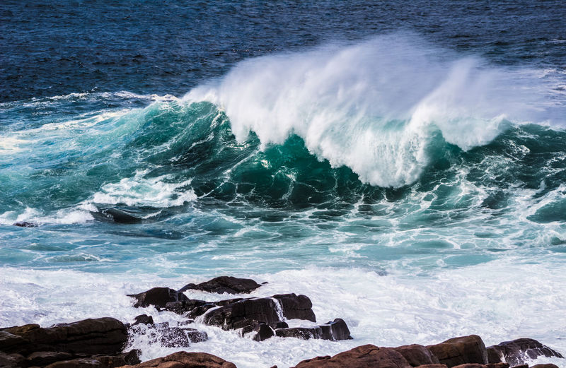MAJESTIC Power Aquatic Sport Beach Beauty In Nature Breaking Crash Day Flowing Water Hitting Motion Nature Outdoors Power Power In Nature Rock Rock - Object Scenics - Nature Sea Solid Sport Surfing Water Wave