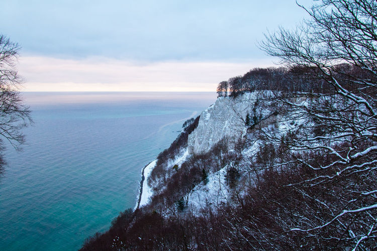 Baltic Sea Baltic Sea Winter Beach Beauty In Nature Cliff Day Dramatic View Horizon Over Water Kaiserstuhl Nature No People Outdoors Rügen Rügen Lovers Scenics Sea Sky Tourism Tranquil Scene Tranquility Tree Water Winter