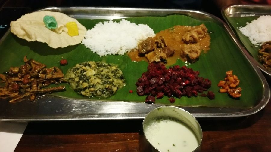 Indian food after a long time.... Food And Drink Food Rice - Food Staple Ready-to-eat Healthy Eating Indoors  Freshness No People Close-up Day Dallas Kumar South Indian Restaurent