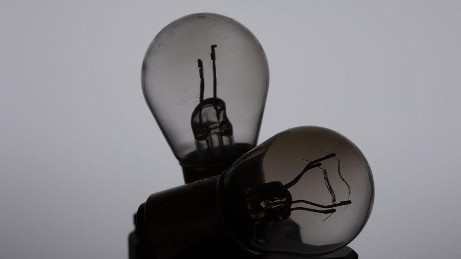 ... Studio Shot White Background Close-up Still Life Bulb Bulbs Flash Photography Flashlight