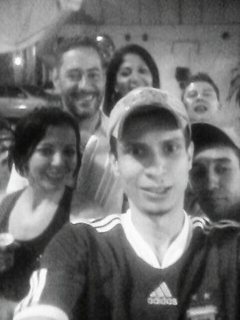 Monochrome Black & White Friends Friends ❤ Selfie Portrait Selfie ✌ Drinking Beer Peoples Brazilian People