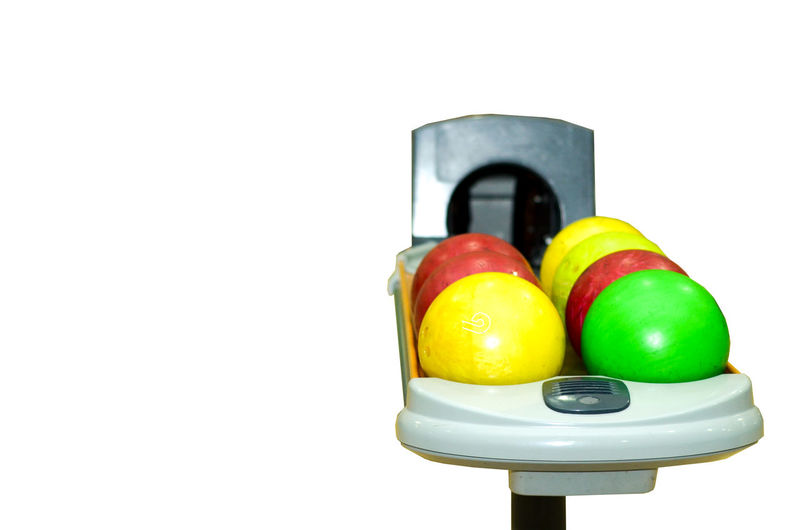 Bowling ball on alley isolated Green Isolated Red Alley Ball Bowling Game Play Sport