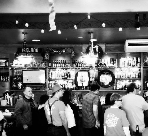 Waxy O'Shea's Irish Pub Irish Pub Pub Large Group Of People Men Indoors  Choice Technology Illuminated Women