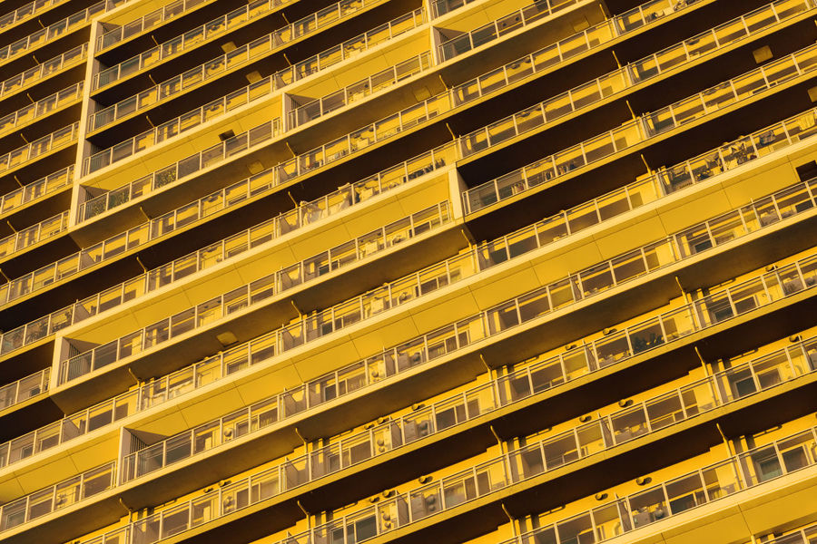 Yotsuya Yellow. Evening in Tokyo, in Yotsuya. Colors Japan Japan Photography Paint The Town Yellow Taking Photos Abundance Architecture Backgrounds Building Building Exterior Colour Of Life Day Evening Full Frame In A Row No People Yellow Colour Your Horizn