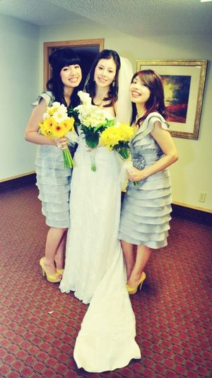 W/ the lovely bride