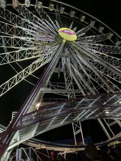 Night No People Ferris Wheel Outdoors Illuminated Architecture City Close-up Sky Multi Colored OC Fair Ocfair Ocfairgrounds Ocfair2017 Amusement Park Amusement Park Ride OC Fair Ground City EyeEm EyeEm Gallery Oc Fairgrounds Arts Culture And Entertainment Ferris Wheel Architecture