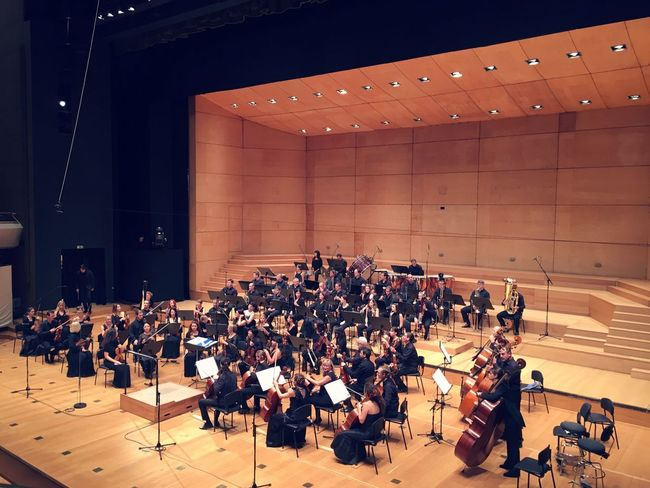 Orcestra Clasic Large Group Of People Music Indoors  High Angle View Auditorium Education Stage - Performance Space Audience Piano Performance Musician Orcestra Pit Concert Concertphotography Concert Hall  Concerts & Events Event Evening Elégance Glamour Old-fashioned