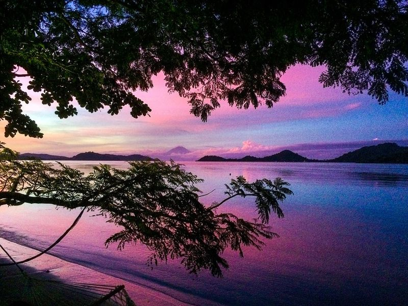 Violet was my first visit to Selong Belanak, south of Lombok, was almost 6PM, and my heart skipped a beat looking at this mesmerizing filter needed, and this shot was taken on beautiful. ShotOnIphone Islandlife Landscape Selong Belanak, Lombok Violet Lombok-Indonesia Water Tree Plant Beauty In Nature Tranquility Sky Sunset Nature Scenics - Nature Outdoors Cloud - Sky The Traveler - 2018 EyeEm Awards