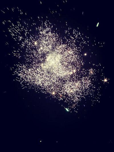 Sylvester 2018 New Year Feuerwerk Aufeinneues Liebe Nacht