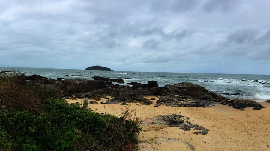 Sea Beach Sky Water Land Cloud - Sky Beauty In Nature First Eyeem Photo