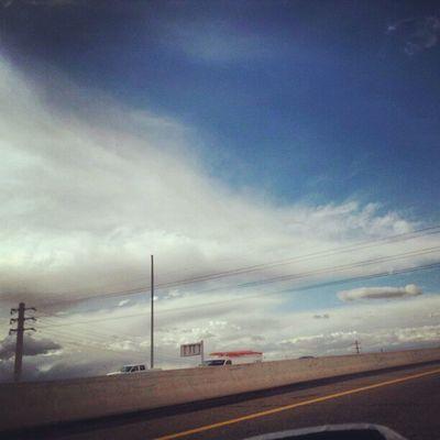 Instagramaz Tempeaz Desertlivin Horizon Blueskies Clouds Driving 202 Sunset @arizonaskies Sunsetsgram Colorful Cloudydays Cloudporn Insaneweatherinphx Powerlines Lightpole Powerline Awesomeclouds Pretty Sunaftertherain @sunsetsgram @ibeautyofnature