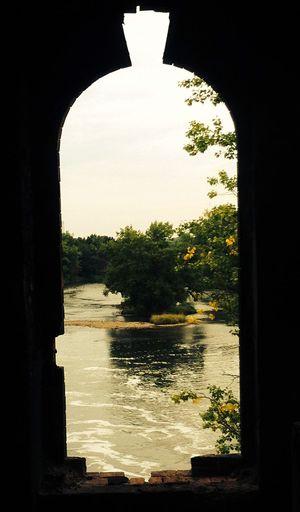 Halle (Saale) Saale River River View Riverside Old Buildings Window Nature