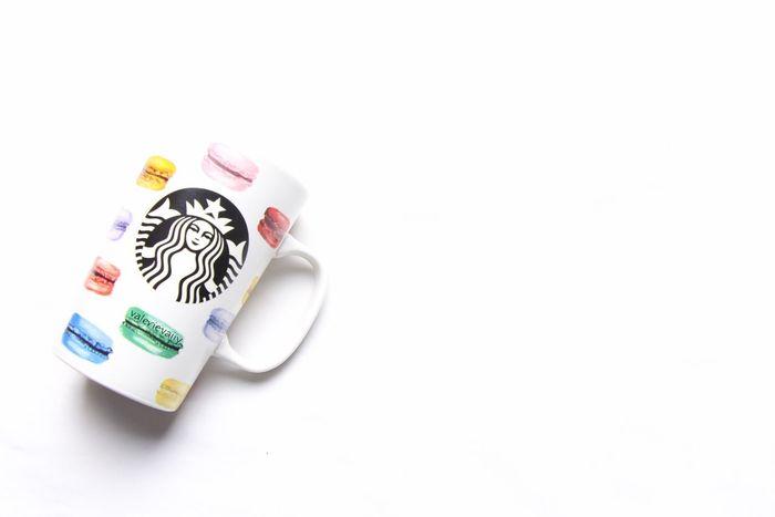 Starbucks Macarons Mug Foodphotography Icapturefood FoodADDICT First Eyeem Photo