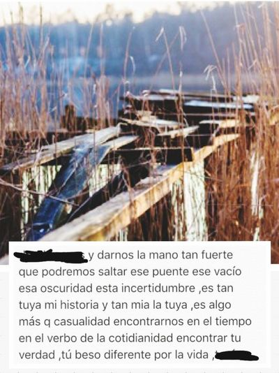 Poems Poesia Poesia Urbana Para Ti Recuerdos Recuerdos♥ Pensamientos PENSAMENTOS  Puentes Que Cruzar.... Puentes Rotos Decisiones Desicions Miedos
