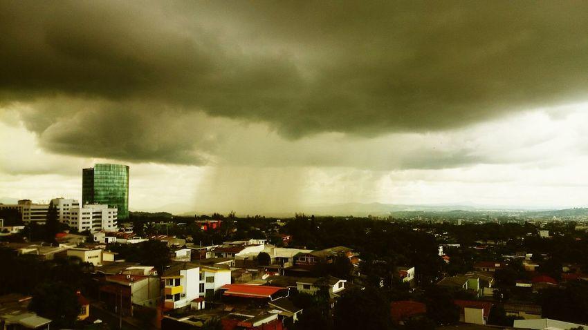 Raining Enjoying The View Rain Architecture San Salvador