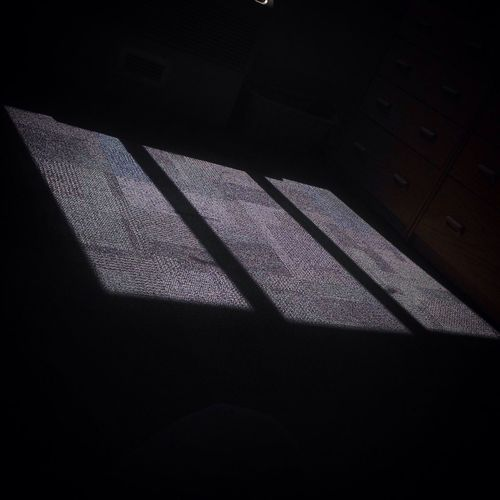 Shadow Sunlight High Angle View Focus On Shadow Flooring Dark Day Room No People Contrasts