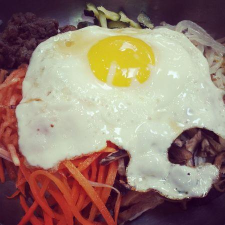 Korean Food 비빔밥 Bibimbap