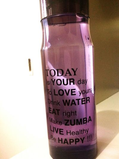 Motivated ♡ Water Bottle  Healthy Working Hard