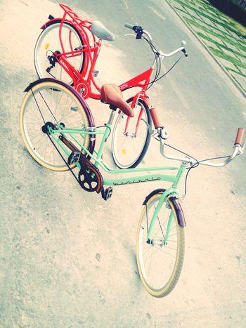 Hello World Bici Bicicleteando Vintage Fashion Vueltas