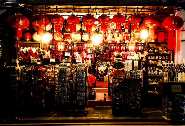 Canon Canon G5X Chinatown Chinese Lanterns Contrast Culture Cultures Decor G5X Illuminated Market Night Red Red Lanterns Shop Shopping Singapore Street