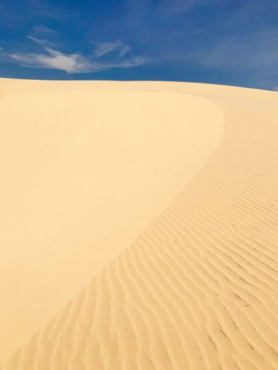 Sand Dune In Desert Against Sky