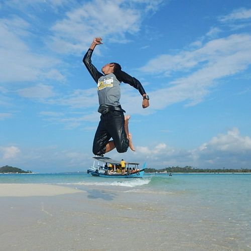 Great Canon for Great Moment Beach Sea Leisure Activity Activity Sky Vacations Exercising Outdoors Canon_official Belitung Live For The Story