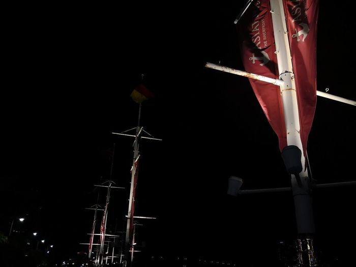 Asiatique The Riverfront Architecture Dark Lighting Equipment Metal Night Outdoors Red Sky HUAWEI Photo Award: After Dark