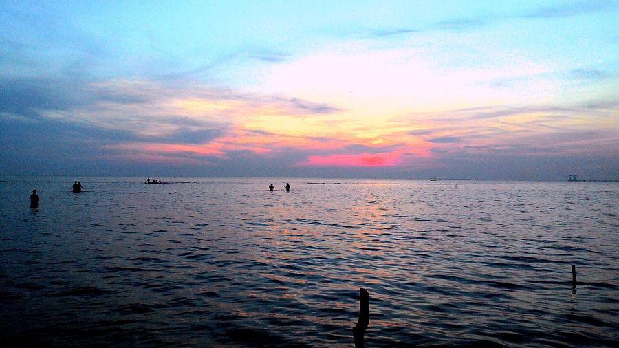 Pantai Pejawanan Cirebon  Pantai Pejawanan Sunrise Water Nature Beach Sea Outdoors
