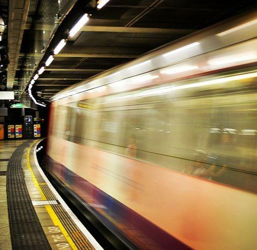 Metro London Underground Underground Speed PhotoByMuratGul