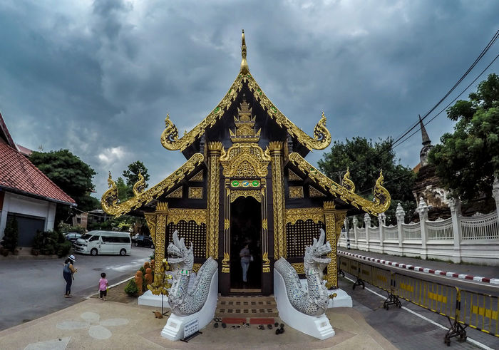 Buddhism Buddhist Buddhist Temple Building Exterior Chiang Mai | Thailand History International Landmark Place Of Religion Place Of Worship Religion Spirituality Temple Thailand