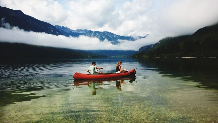 Slovenia Lake Clouds And Sky //C Triglavski Narodni Park (triglav National Park) |VELIK PRAZNIK Z VAMI<3