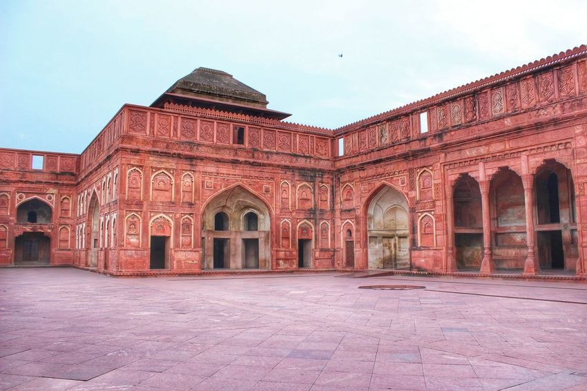 Agra Fort Heritage Building Colour Of Life Taking Photos Travel India Akbar Fort