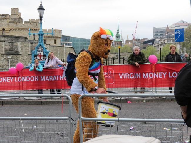 Bear Funny London Bridge London Marathon Money Run Teddybear The Street Photographer - 2016 EyeEm Awards The Photojournalist - 2016 EyeEm Awards