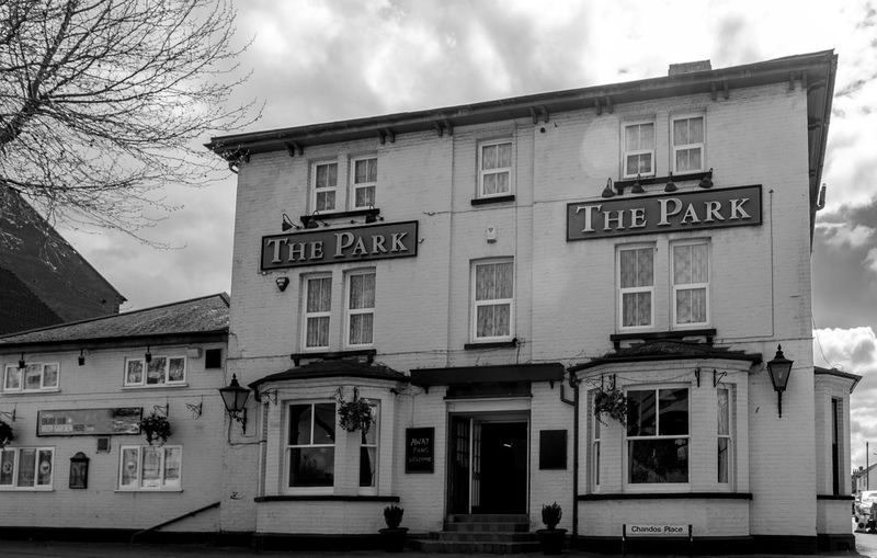 The Park, Bletchley, Buckinghamshire Urban Buckinghamshire Bletchley  Architecture FUJIFILM X-T10 Black And White Monochrome Buckinghamshire Pubs Pubs