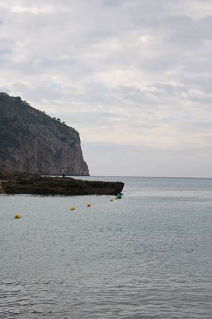 Angler Blue Camp De Mar Cloud - Sky Day Holidays Landscape Majorca Mallorca Outdoors Rock - Object Sea Sky Vacations Water