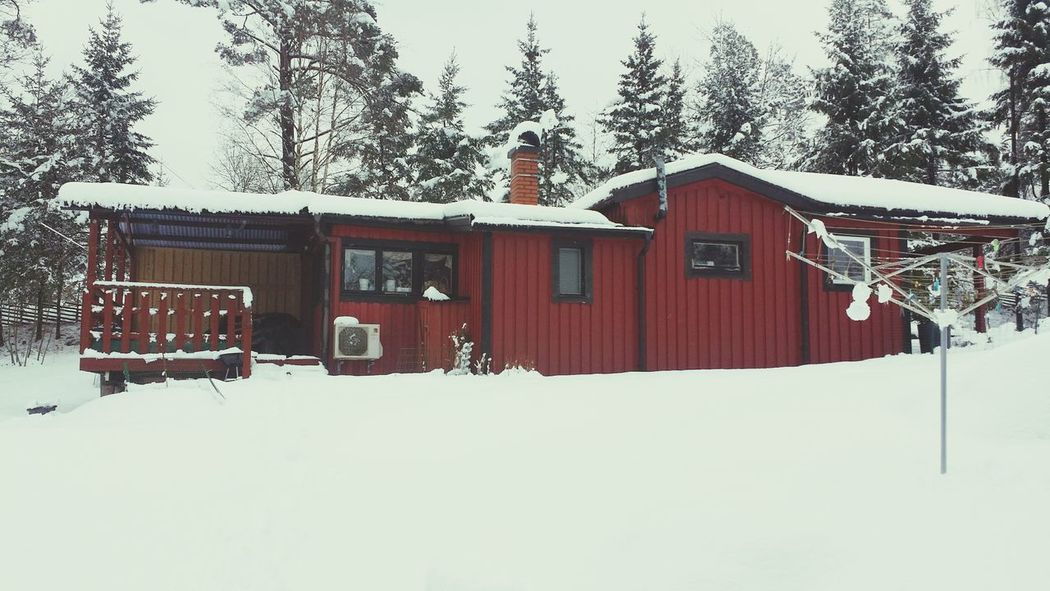 Today's view from the garage Walking Around Snow ❄ Home Sweet Home
