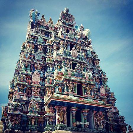 Enchantingtamilnadu Incredibleindia MeenakshiTemple Madurai Colorful S6photography Beenthere Temple Travel _soi Photooftheday Spiritual