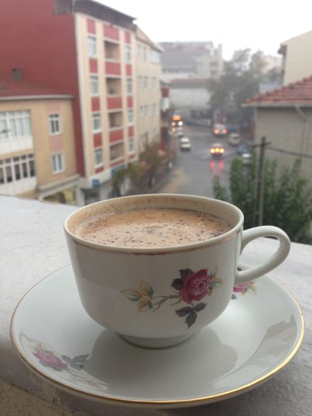 👌🏼☕️ Getting In Touch Relaxing Coffee Coffee Break Coffee ☕ Rain Rainy Days Grey Great Atmosphere Turkish Coffee