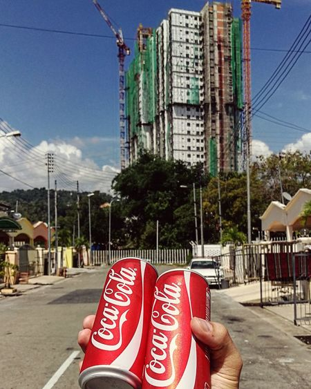 Always coca cola Coke Sunny Day Hotday