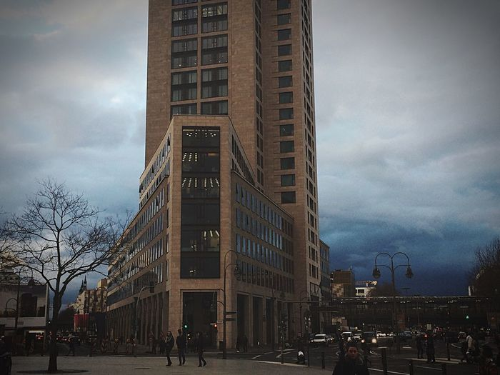 Streetphotography City Berlin Germany Divine Light Clouds Architecture Picture Light And Shadow Eye4photography