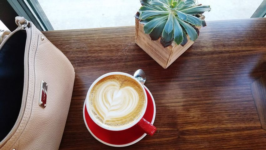 Table Latte Coffee - Drink High Angle View Drink Food And Drink Coffee Coffee Time Coffee Shop