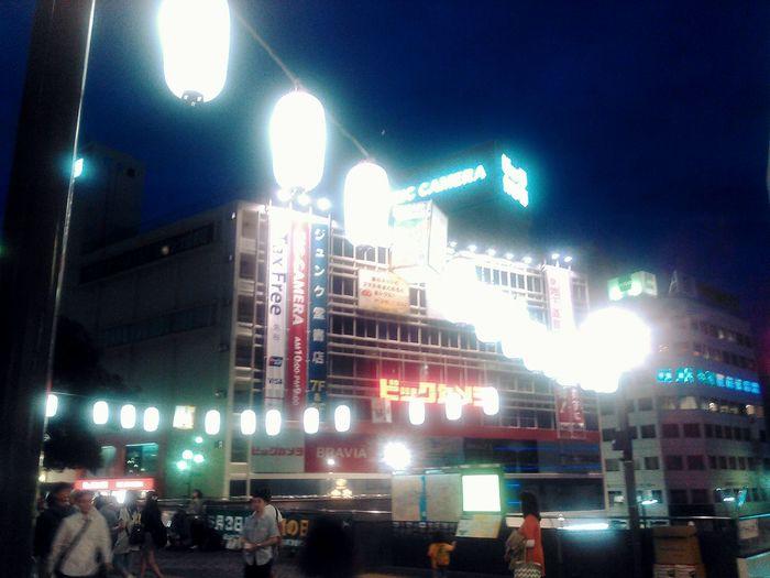 祭りの準備 藤沢駅